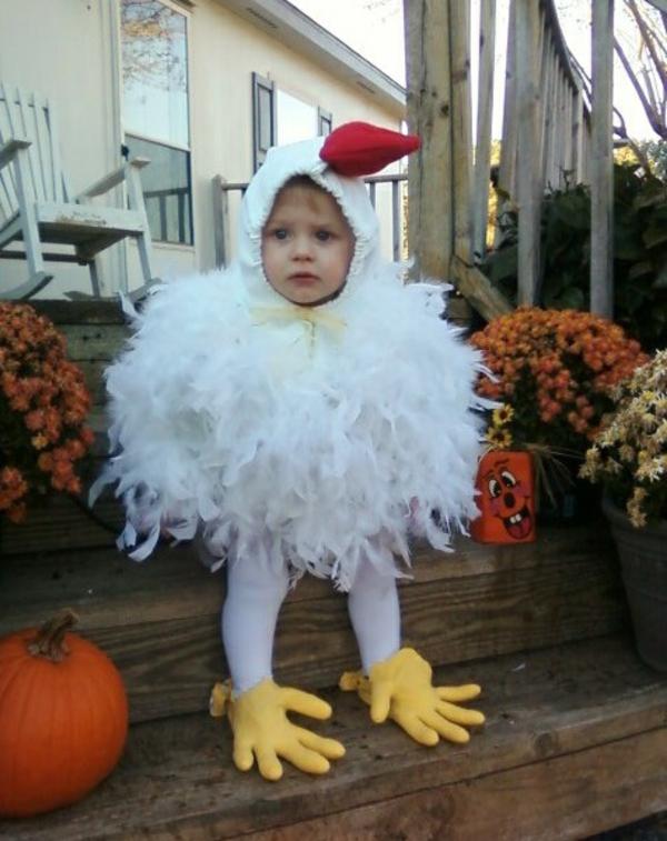 diy karnevalskostüme selbstgemachte kostüme hühnchen