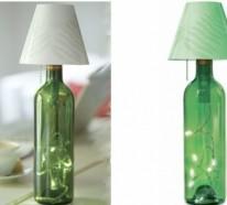 DIY Lampe aus Weinflaschen – kreative Dekoideen