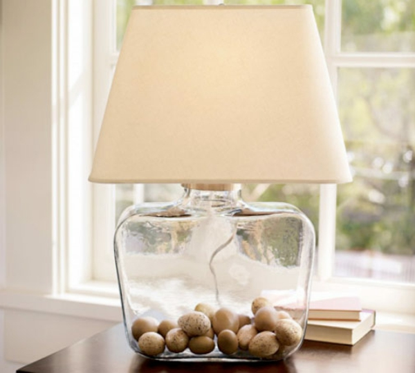 diy lampe weinflasche tolle dekoideen