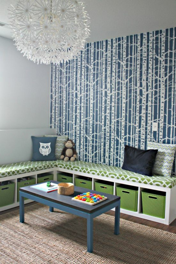 kinderzimmer tapeten - farbige ideen für ihr interieur - Ideen Kinderzimmer Tapeten Muster