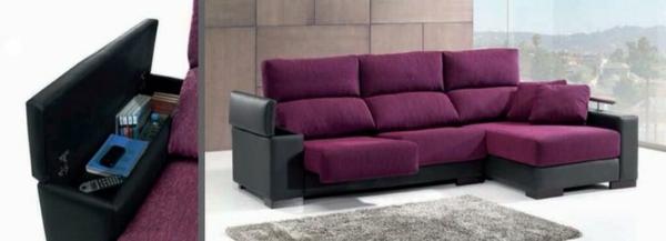 einrichtungsideen scheselong sofa lederbasis polsterung