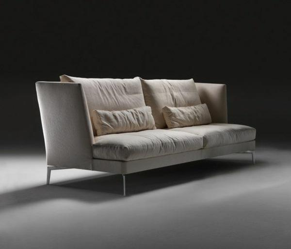 scheselong sofa lederbasis rücklehne