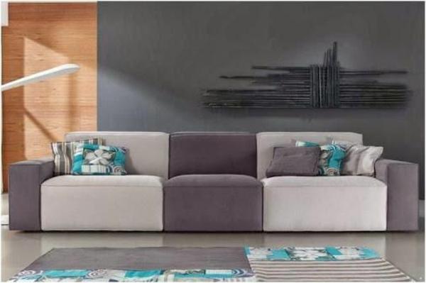einrichtungsideen scheselong sofa zweifarbig