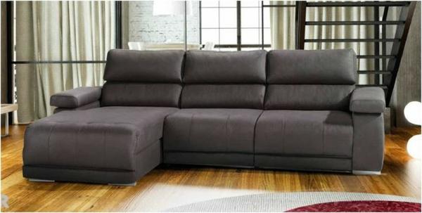 einrichtungsideen uniques scheselong sofa leder
