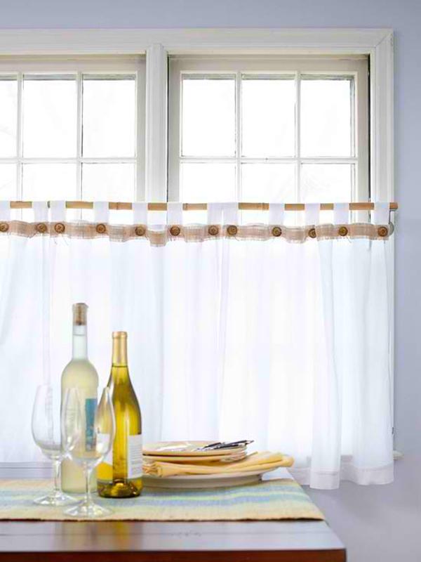 esszimmer gestalten deko gardinenideen gardinen stoffe transparent