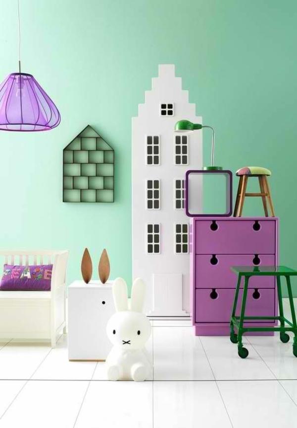 40 farbideen kinderzimmer - der zauber der farben - Farbgestaltung Kinderzimmer