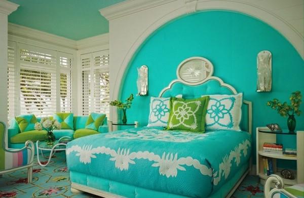 Farbideen schlafzimmer einflu reiche farben und dekoration for Farbige zimmer