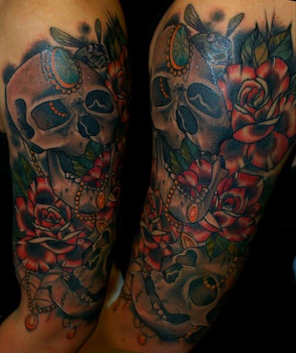 tattoos bilder oberarm tattoo designs für männer