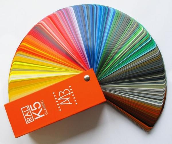 Farbtafel Wandfarbe – Wählen Sie die richtigen Schattierungen für ...