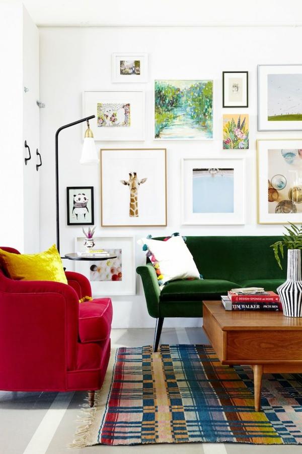 feng shui regeln wohnzimmer farben wandgestaltung
