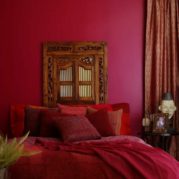 Asiatische Schlafzimmer Einrichtung Asiatische Schlafzimmer Mit Braunen  Wänden Einrichten Ideen .