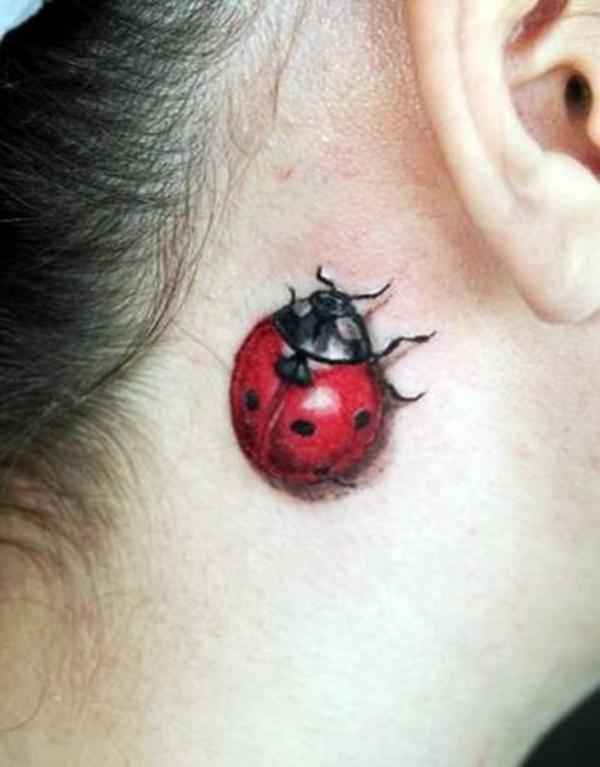 tattoo designs coole tattoos 3d marienkäfer