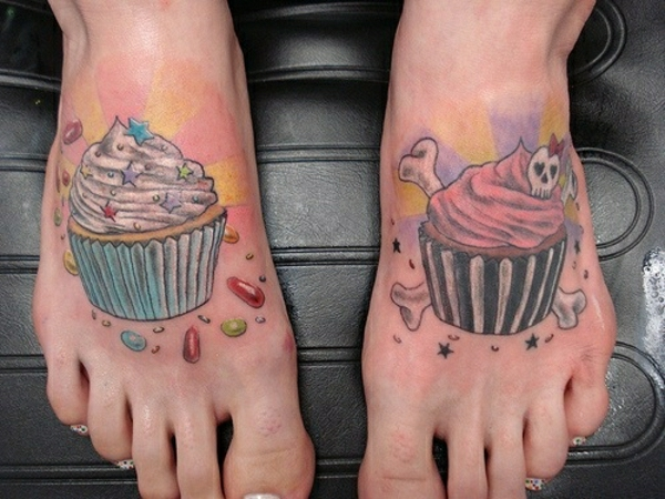 fuss tattoo designs tattoos bilder kuchen