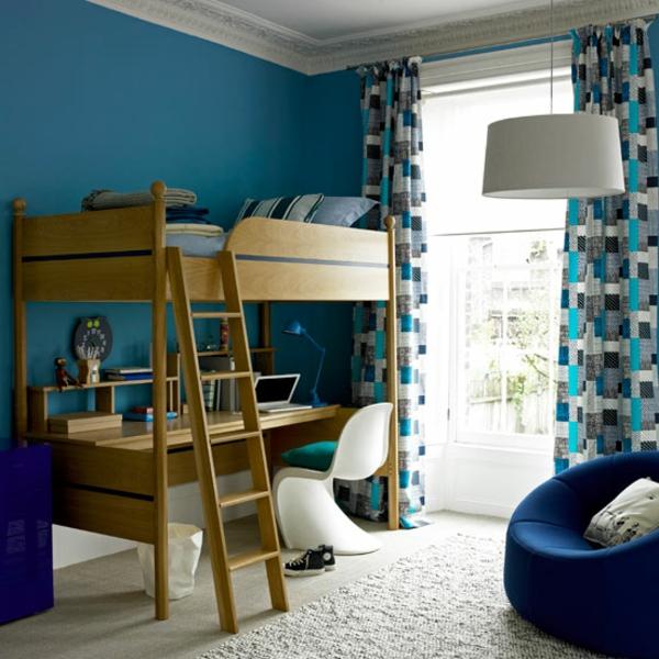 coole gardinen im kinderzimmer bieten sonnenschutz und charme. Black Bedroom Furniture Sets. Home Design Ideas