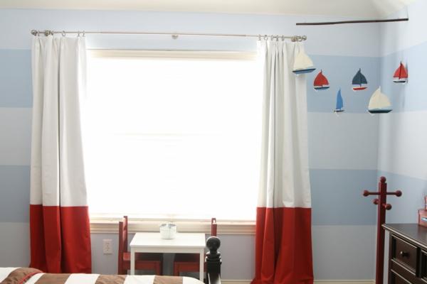 coole gardinen im kinderzimmer bieten sonnenschutz und charme - Gardine Kinderzimmer Weis