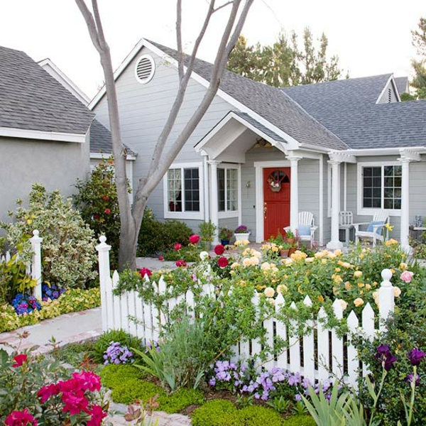 vorgartengestaltung ideen - kreative designideen für ihr exterieur, Gartenarbeit ideen