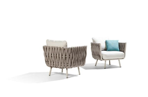 gartendeko lounge möbel outdoor moderne sessel designideen