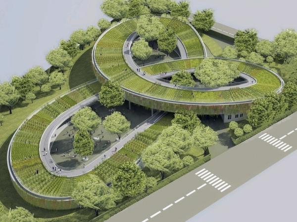 gartengestaltung und landschaftsbau kindergarten heute nachhaltige architektur vietnam