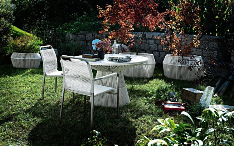 gartenmöbel garten gestalten outdoor lounge möbel tibaldo kolektion varaschin