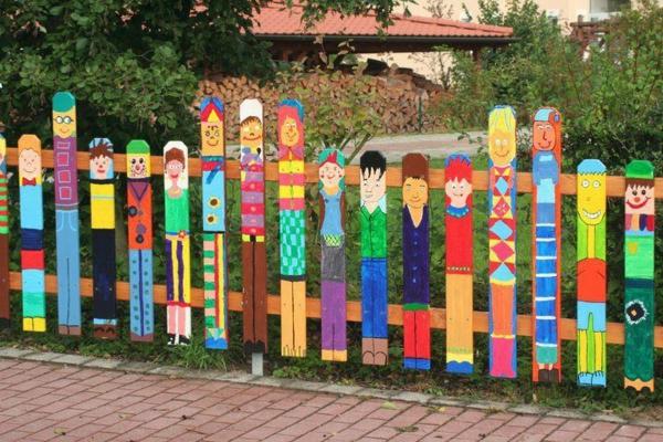 Gartengestaltung Mit Sichtschutz gartenzaungestaltung 20 beispiele für selbstgebaute gartenzäune