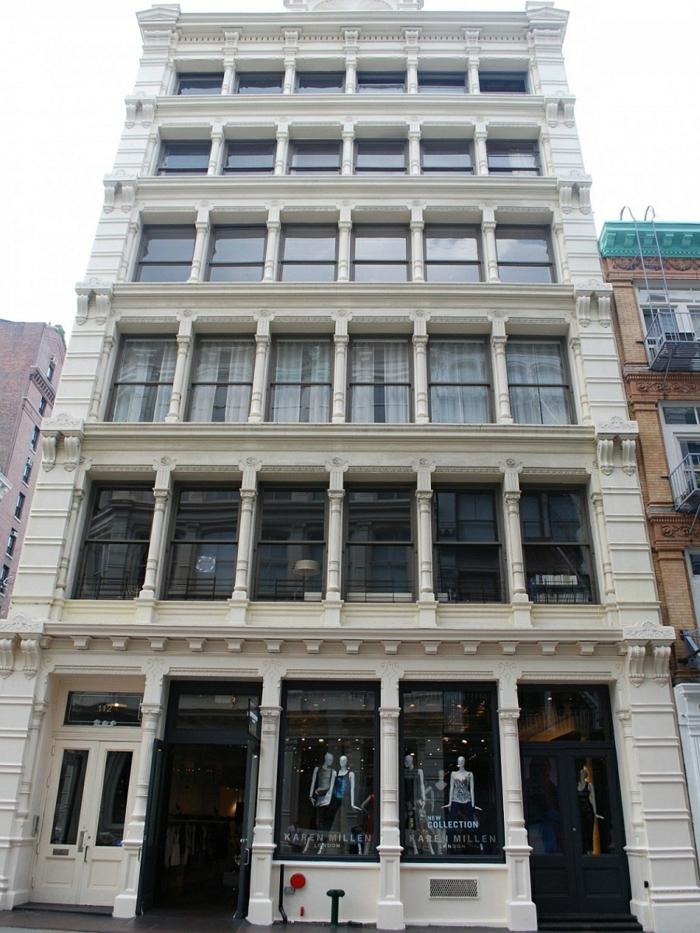 gebäude hausfassade prince street new york stadtwohnung