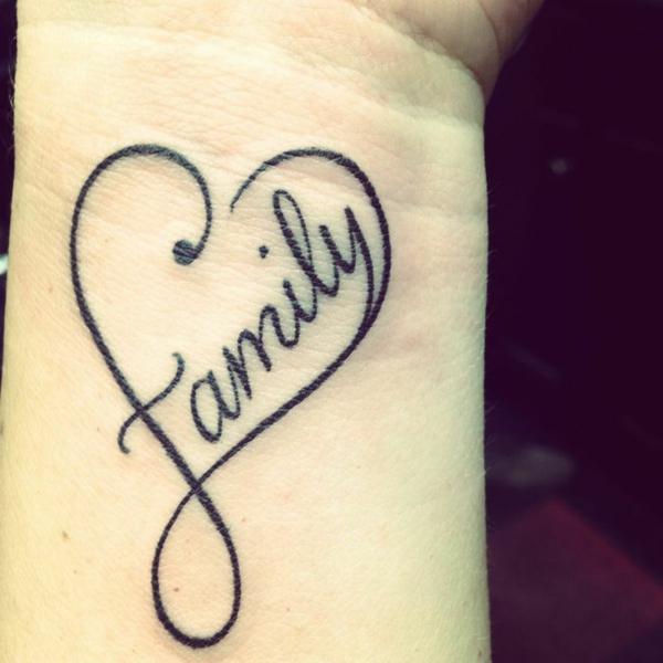 handgelenk tattoo herzen tattoo sprüche family