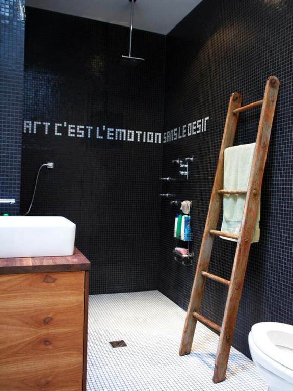 handtuchleiter holz bedezimmer möbel badezimmer einrichten