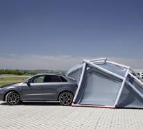 Campen leicht gemacht mit dem Camping Zelt für Audi Q3