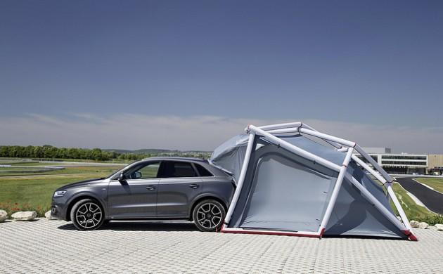 Zelt Für Audi Q5 : Campen leicht gemacht mit dem camping zelt für audi q
