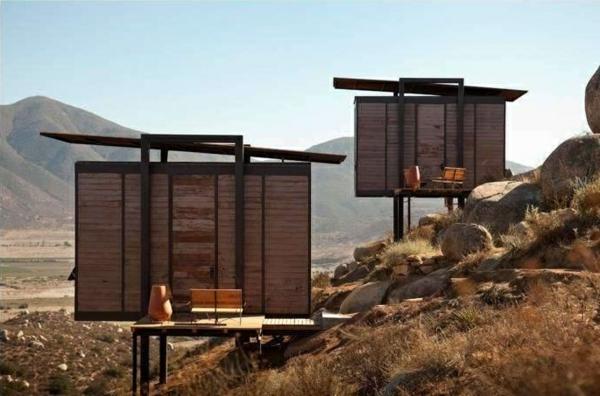 holzbungalow fertighaus besondere ferienhäuser architektur und design