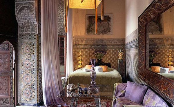 Schlafzimmer Orientalisch Gestalten ~ Raum Haus Mit Interessanten