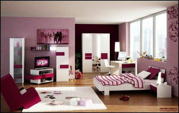 Jugendzimmer mädchen modern braun  105 Coole Tipps und Bilder für Jugendzimmergestaltung