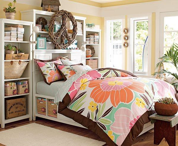 jugendzimmergestaltung einrichtungsideen tropisches schlafzimmer