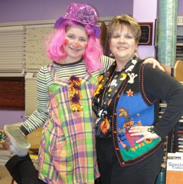 karnevalskostüme selbstgemachte kostüme clown mädchen cool