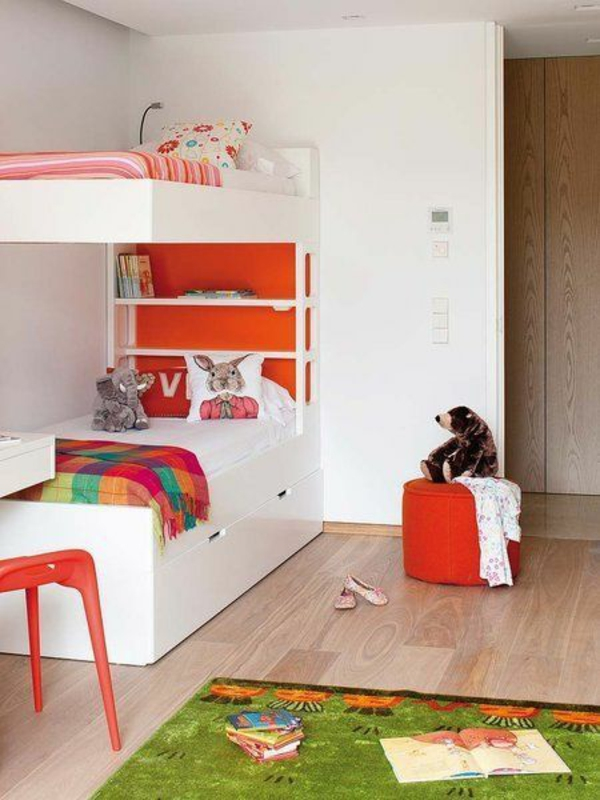 hochbett im kinderzimmer 100 coole etagenbetten f r kinder. Black Bedroom Furniture Sets. Home Design Ideas