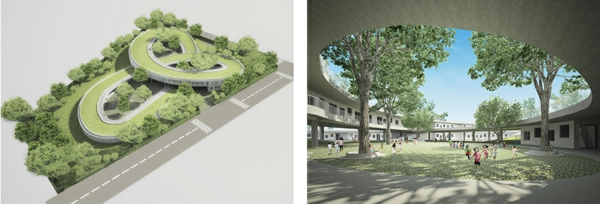 kindergarten heute grüne architektur vietnam umweltfreundliches projekt