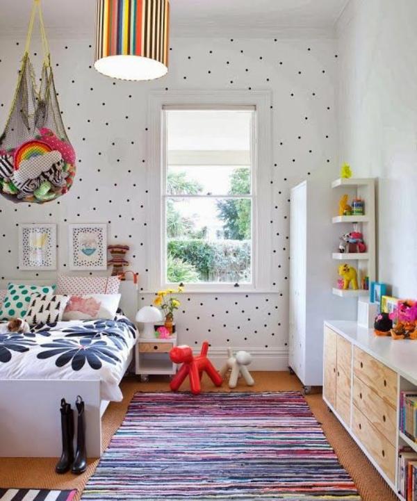 Gestreifte Tapeten F?r Kinderzimmer : Kinderzimmer Deckenlampe ? Designideen f?r tolle Deckenbeleuchtung