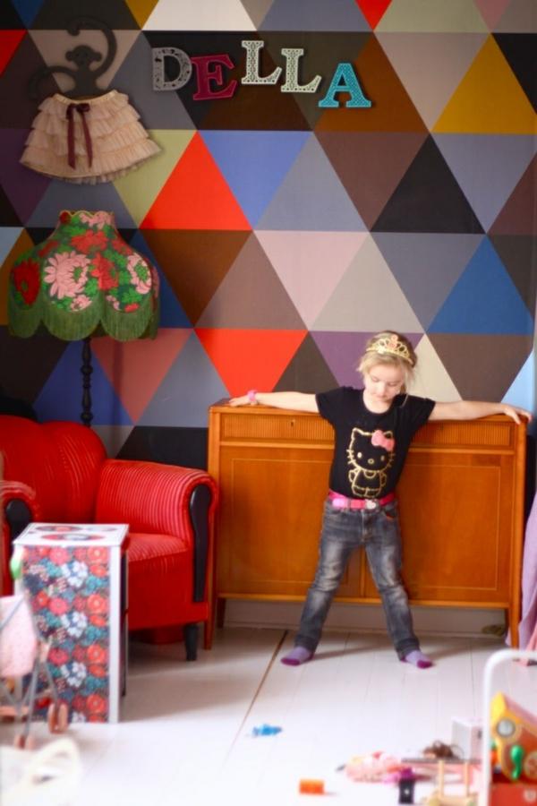 Kinderzimmer Tapeten Muster : Kinderzimmer Tapeten ? farbige Ideen f?r Ihr Interieur