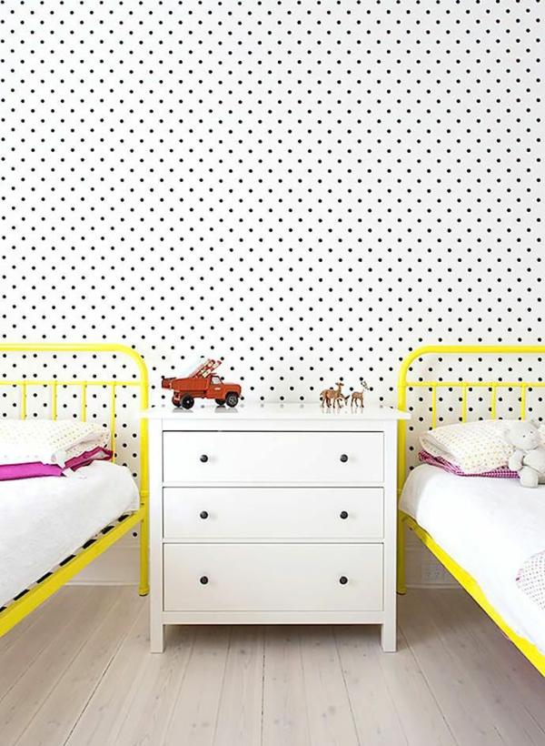 tapeten gestaltung kinderzimmer 185857 neuesten ideen. Black Bedroom Furniture Sets. Home Design Ideas