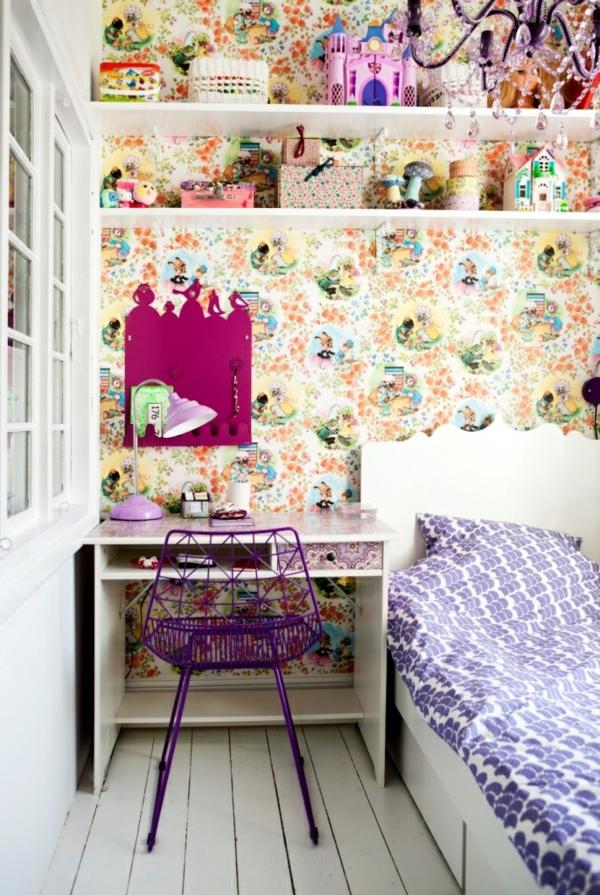 Tapeten Ideen F?r Kinderzimmer : Kinderzimmer Tapeten ? farbige Ideen f?r Ihr Interieur