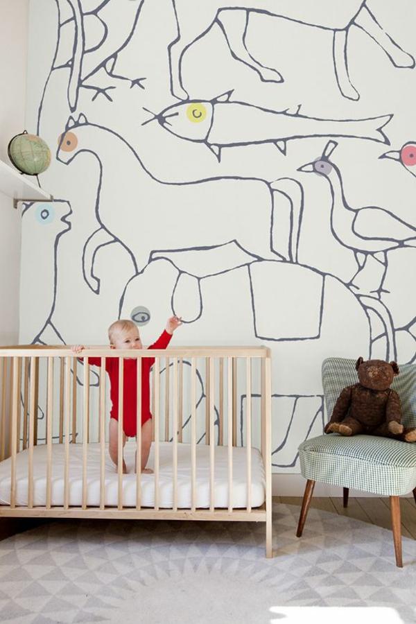 kinderzimmer tapeten eule ? reiquest.com - Ideen Kinderzimmer Tapeten Muster