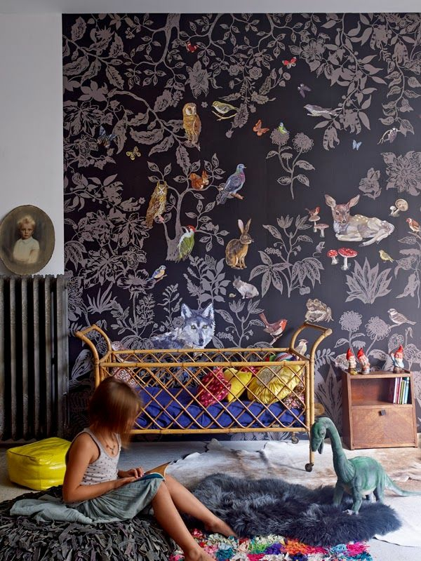 Kinderzimmer Tapeten Wald : Kids' Rooms Eclectic