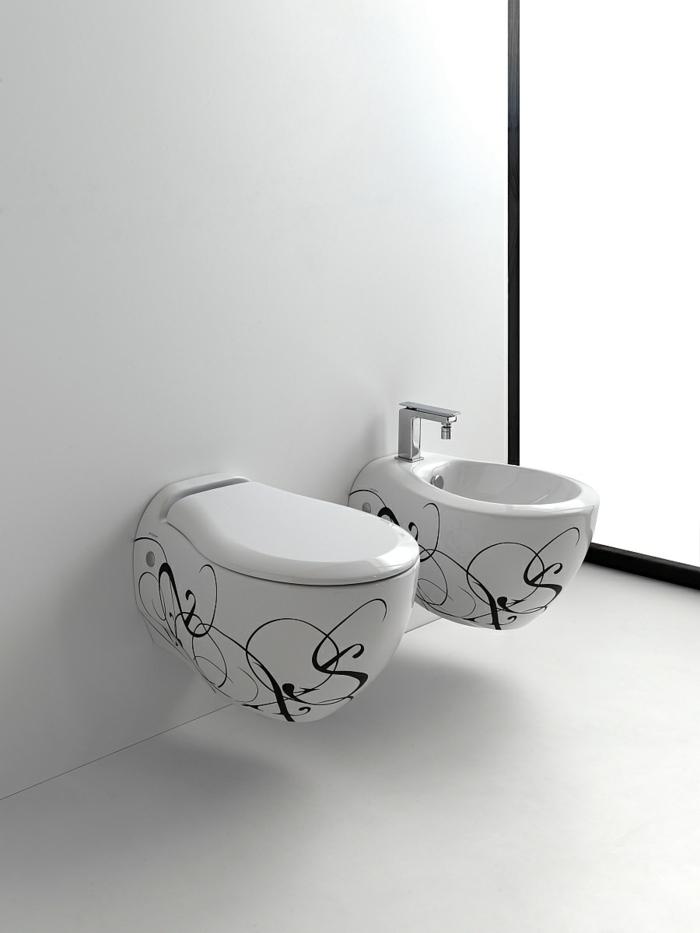 kleines badezimmer einrichten moderne badezimmer möbel weiß schwarz