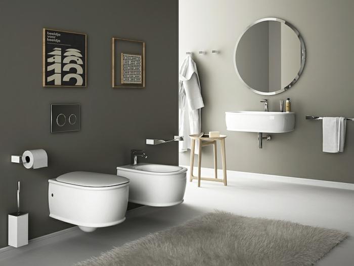 Kleines badezimmer einrichten wandgestaltung ideen moderne badezimmer