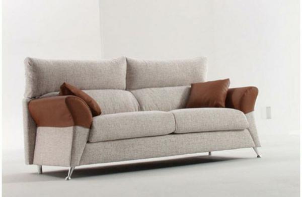 möbel scheselong sofa zweifarbig