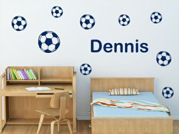 Kinderzimmer wandtattoos ideen und tolle beispiele - Wandsticker jungs ...