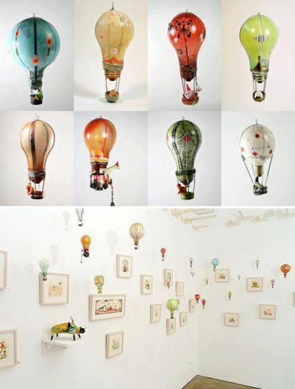 lampe-glühbirnenform-diy-deko-ballons