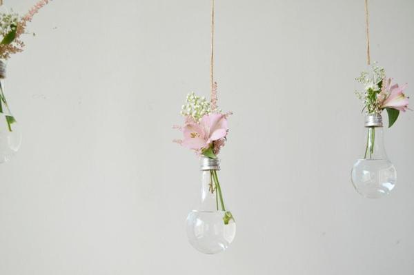 lampe-glühbirnenform-diy-deko-hängend-blumenvase