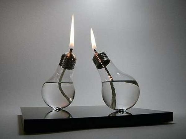 lampe-glühbirnenform-diy-deko-kerzen