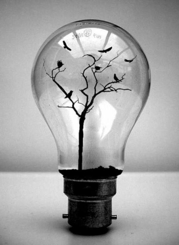 lampe-glühbirnenform-diy-deko-kunstvoll